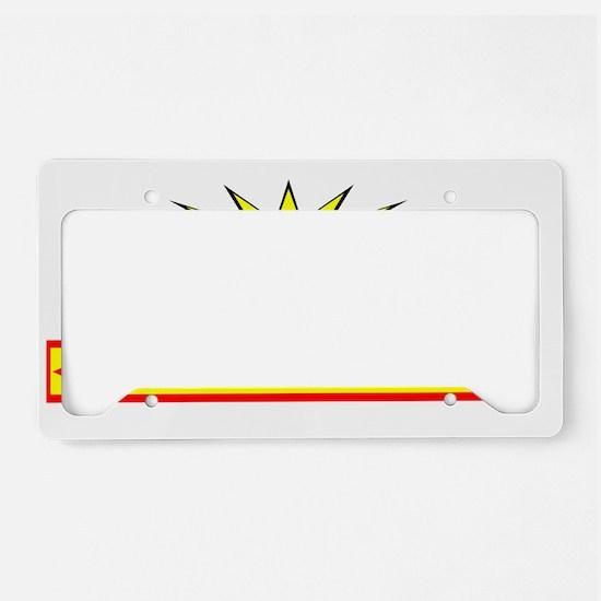CHEROKEE INDIAN License Plate Holder