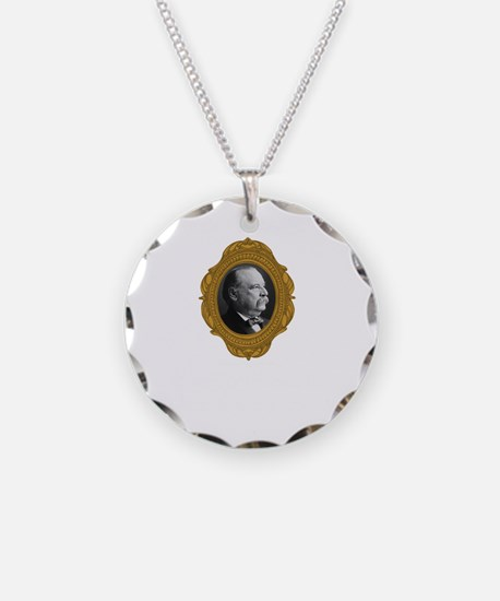 Grover Cleveland White Necklace