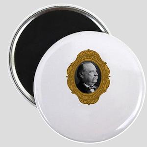 Grover Cleveland White Magnet
