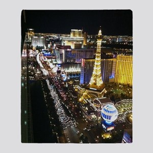 Vegas Strip Throw Blanket