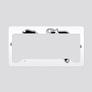 Diver Dive Blk License Plate Holder