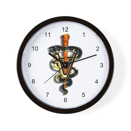 Pet Doc Wall Clock