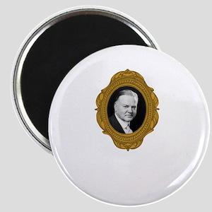 Herbert Hoover White Magnet