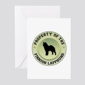 Lapphund Property Greeting Cards (Pk of 10)