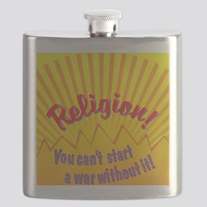 You Cant Start a War Flask