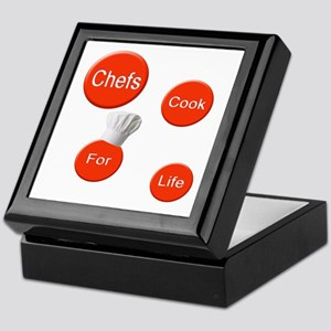 Chef Cook For Life Keepsake Box