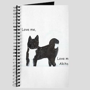 Love me, love my Akita Journal