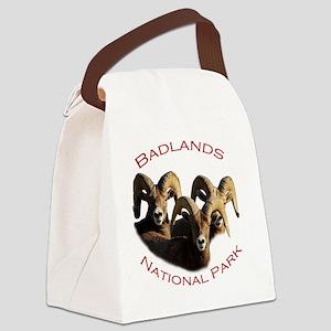 Badlands National Park Canvas Lunch Bag