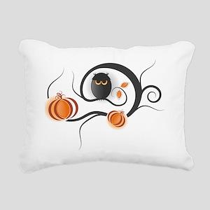 Whimsical Halloween Rectangular Canvas Pillow