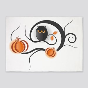 Whimsical Halloween 5'x7'Area Rug