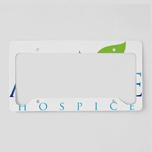 Passages Hospice Logo License Plate Holder