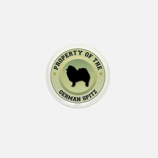Spitz Property Mini Button