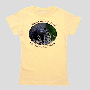 Yellowstone National Park...Black Bear  Girl's Tee