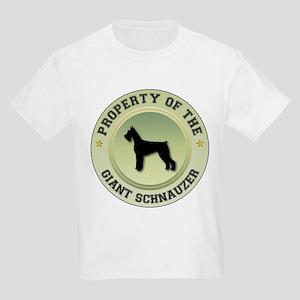 Schnauzer Property Kids T-Shirt