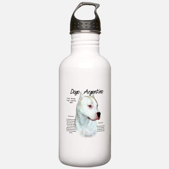Dogo Argentino Water Bottle