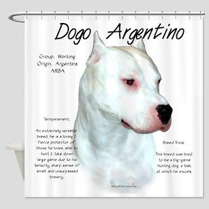 Dogo Argentino Shower Curtain