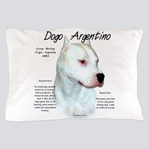 Dogo Argentino Pillow Case