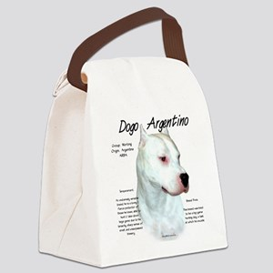 Dogo Argentino Canvas Lunch Bag