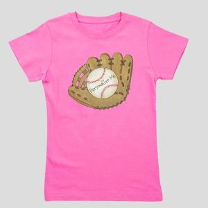 Custom Baseball Girl's Tee