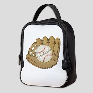 Custom Baseball Neoprene Lunch Bag
