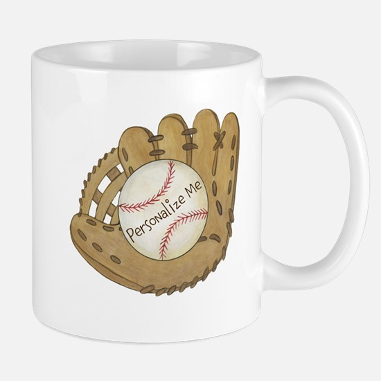 Custom Baseball Mug