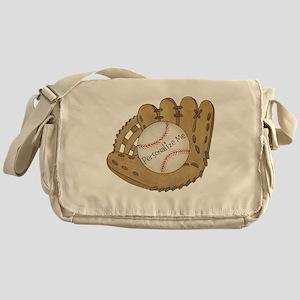 Custom Baseball Messenger Bag