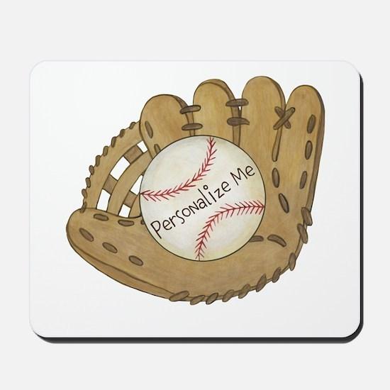 Custom Baseball Mousepad
