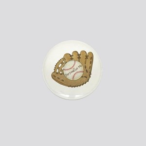 Custom Baseball Mini Button