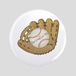 """Custom Baseball 3.5"""" Button"""