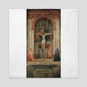 Holy Trinity - Masaccio Queen Duvet
