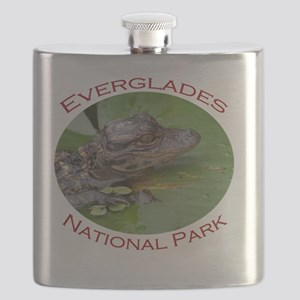 Everglades National Park...Baby Alligator Flask