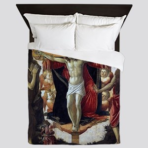 Holy Trinity - Botticelli Queen Duvet