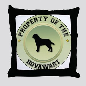 Hovawart Property Throw Pillow