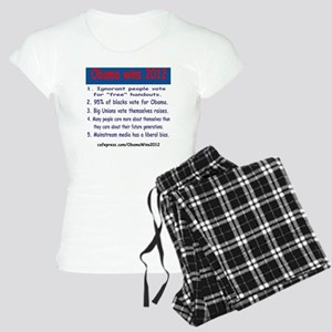 ObamaWins2012 Women's Light Pajamas