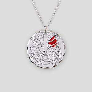 BoostedHeartDesign Necklace Circle Charm