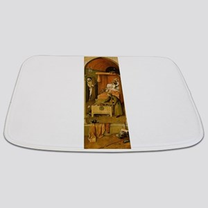 Death and the Usurer - Bosch - c1496 Bathmat