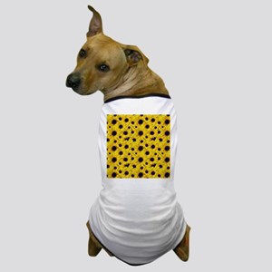 Brown Eyed Susan Daisy Flowers Dog T-Shirt