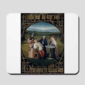 Cutting the Stone - Bosch - c1495 Mousepad