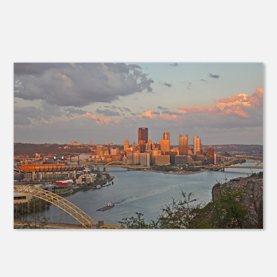 Pittsburgh Sunset Postcards (Package of 8)