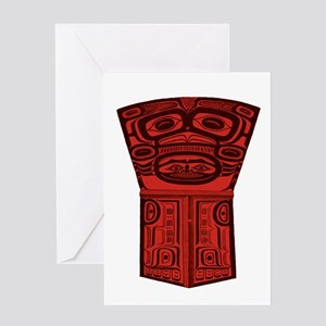 TRIBAL SOUNDER Greeting Cards