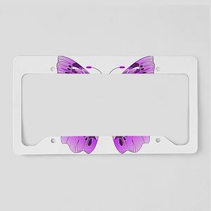 Awareness Butterfly License Plate Holder