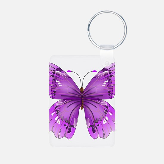 Awareness Butterfly Keychains