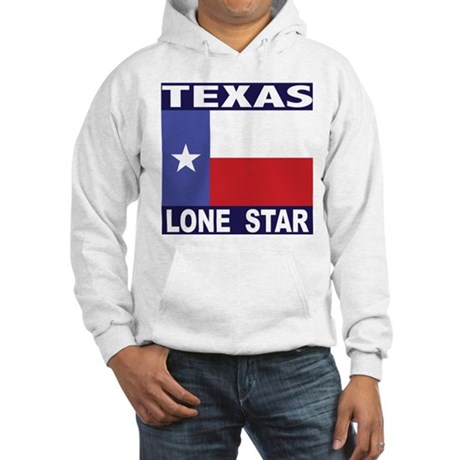 Texas Lone Star Hooded Sweatshirt