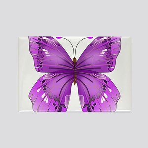 Awareness Butterfly Magnets