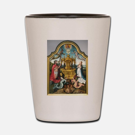Blood of Christ - Jean Bellegambe Shot Glass