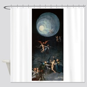 Ascent to Heaven - Bosch - c1490 Shower Curtain