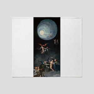Ascent to Heaven - Bosch - c1490 Throw Blanket
