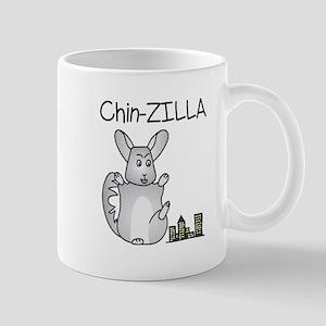 Chin-Zilla Mugs
