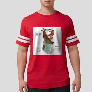 Basenji (chestnut) Mens Football Shirt