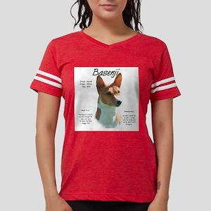 Basenji (chestnut) Womens Football Shirt